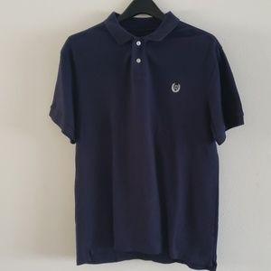 Chaps Size L Men's Blue Custom Fit Polo